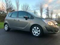 2013 VAUXHALL MERIVA AUTOMATIC & DIESEL 1.7 CDTI 110 BHP *** LOW MILES FSH
