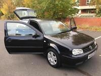 VOLKSWAGEN GOLF GTI (115 BHP). ONLY TWO OWNERS. SUPERB BLACK FINISH.