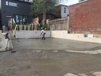 SLABS, WALKWAYS, STAIRS, GARAGES FOUNDATIONS, SIDE ENTRANCES, FO