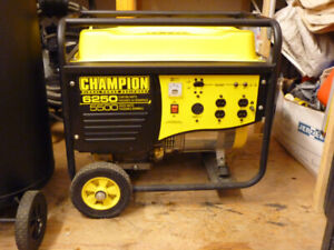 champion 6250 watt gas generator