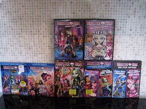 BLU-RAY ET DVD MONSTER HIGH