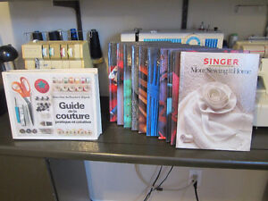 SINGER Sewing Book Collection