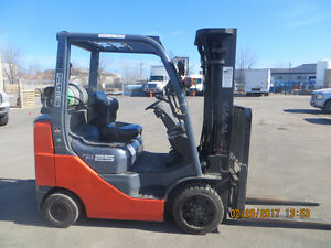 CERTIFIED 2011 TOYOTA FORKLIFT EXCELLENT WORKING UNIT