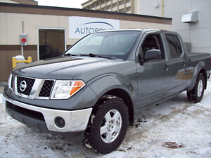 "2007 NISSAN FRONTIER ""SE"" 4.0 V6 4X4 AUT with only 148649km!"