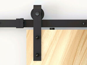 Hide your spring cleaning with soft close barn door hardware
