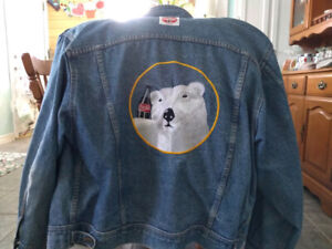 Authentic Coca Cola Denim Jacket from 1992-1993. Large