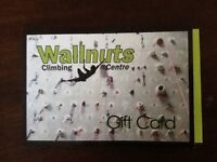 Wallnuts learn to climb for 2 gift certificate.