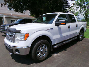 2013 FORD F-150 XLT XTR, 4X4, 5.0L V8, SUPERCREW, ONE OWNER