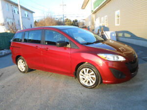 2012 MAZDA 5 5 DOOR GS MINIVAN. 3 YEAR WARRANTY INCLUDED