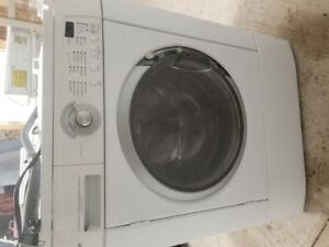 Stackable washer and electric dryer 300.00. Delivery available