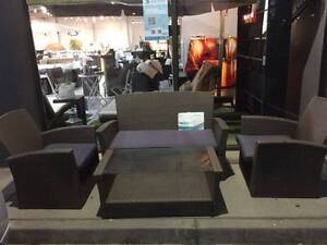 4 pcs Wicker Rattan 4 Seater Outdoor Lounge Set Wantirna South Knox Area Preview