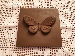 cast iron butterfly wall mount