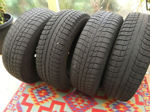 Michelin X-Ice Winter Tires on rims 215/65/16 - $300 (Ladner)