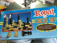 Brand new chess set