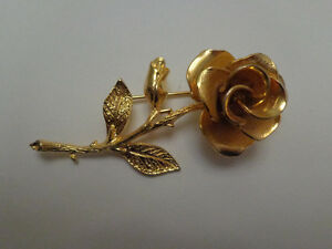 Rose Pin Brooch