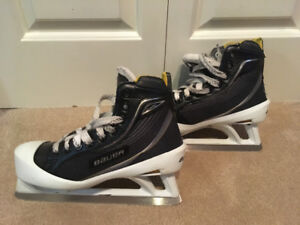 Size 4 (wide) goalie skates