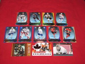 12 different McDonald's hockey insert cards*