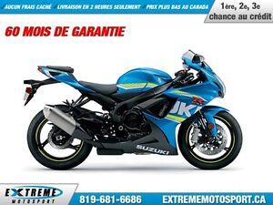 2017 Suzuki GSX-R600 !!! 1000$ DE RABAIS !!! 35,84$/SEMAINE