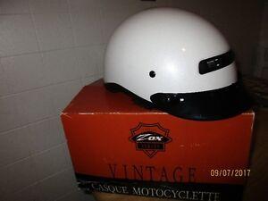 Pearl White Zox Helmet