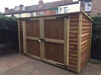 Bike shed/storage shed