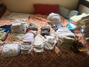 Full Collection of Cloth Diapers and more!