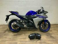 Yamaha YZF R3 2016 HPI CLEAR 2 OWNERS DAMAGED REPAIRABLE RUNNING PROJECT BIKE A2