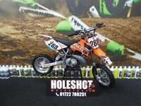 KTM SX 50 Motocross Bike Perfect for a learner rider