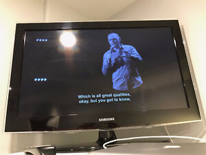 """32"""" Samsung LCD TV for Sale"""