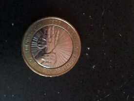 Extremely Rare Florence Nightingale £2 coin