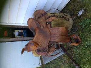 Western saddle Prince George British Columbia image 1