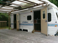 20 foot citation travel trailer