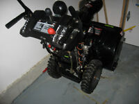 SNOW BLOWER like new but half the price!