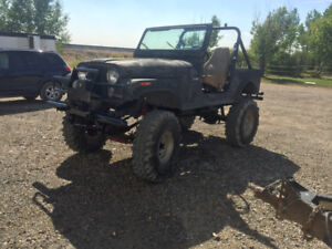 Big cj7 Jeep for trade