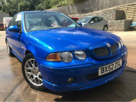 MG/ MGF ZS 1.8 120 +**Genuine 39,000 Miles**1 Owner From Brand New**Stunning Car
