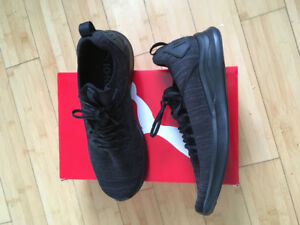 Black Puma shoes  ignite flash men's size 11