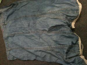 Ladies 12 Summer Jean Skirt - $5