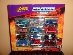 Johnny Lightning Dragsters USA 11 car set