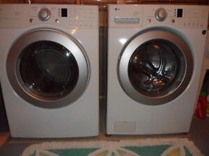 Almost new LG washer and dryer