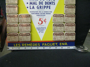 Vintage Pharmacist's display tins West Island Greater Montréal image 3