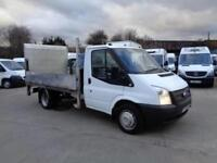 FORD TRANSIT 2.2 TDCi (125PS)   LWB   DROPSIDE   TAIL LIFT   1 OWNER   2012