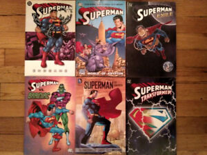 Superman, DC Comics, Trade paperbacks