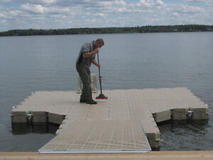 Floating dock - only used one year