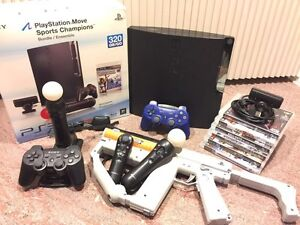 Sony PlayStation 3 Move Bundle with extra