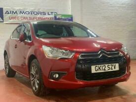 image for 2012 12 CITROEN DS4 1.6 E-HDI DSTYLE AIRDREAM AUTOMATIC DIESEL