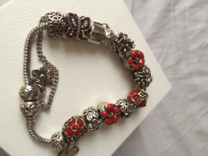 Bracelet and charms