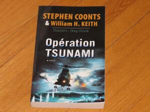 S.COONTS et W.H. KEITH//** /OPÉRATION TSUNAMIS/littérature