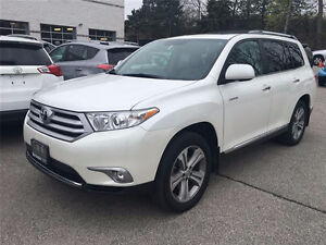 2011 Toyota Highlander LIMITED SUV Top Line Model remote start