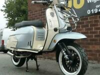 ROYAL ALLOY GP125 A/C retro scooter mod automatic