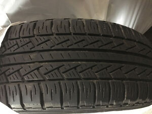 215 R16, VW Tiguan Tires <20K km + Tiguan winter mats
