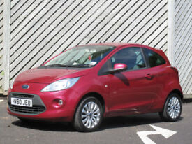 2010/60 FORD KA 1.2 Zetec 3DOOR HATCH - ONE OWNER - ONLY 45000 MILES FROM NEW !!